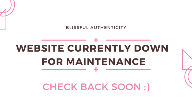 site maintenance message