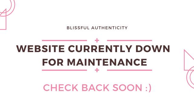 site maintenance message